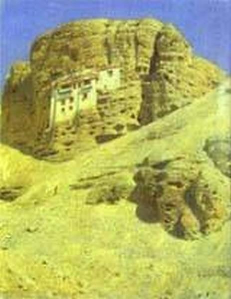 Monastery in a rock ladakh 1875 xx the museum of russian art kiev ukraine